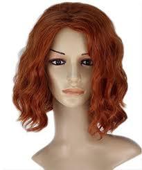 black widow wig avengers age of ultron black widow cosplay wig