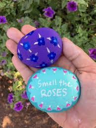 cute rock painting ideas