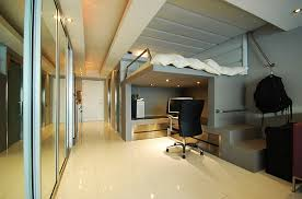 Modern minimalist loft bed with a stylish work area underneath - for third  bedroom/Daniel's