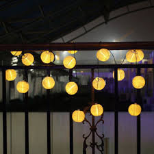 Warm White Lantern Solar Lights By Lights4fun  NotonthehighstreetcomChinese Lantern Solar Lights