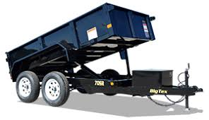 trailer styles  big tex dump trailers 70sr