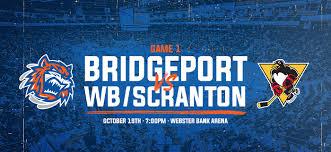 Sound Tigers Vs Wb Scranton Penguins Webster Bank Arena