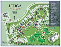campus map  utica college