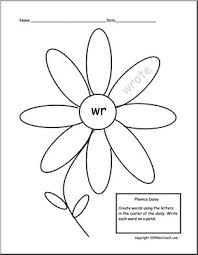 Phonics helps students learn to identify relationships between words and sounds. Wr Sound Phonics Daisy I Abcteach Com Abcteach