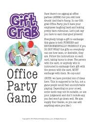 Holiday Office Party Games