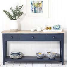 blue and white furniture. Florence Console Table - NAVY BLUE Blue And White Furniture