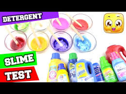 best detergent for slime test diy how to make slime without borax or liquid starch by jellyrainbow