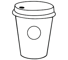 Starbucks Coloring Page Sketch Of Logo Starbucks Coffee Drawing 2nd