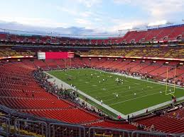 Fedex Field Landover Md Seating Chart Fedexfield View From Zone D Club 336 Vivid Seats