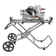 ridgid miter saw table. product overview. ridgid\u0027s new and upgraded mobile miter saw stand ridgid table