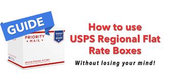 Guide Understanding Usps Flat Rate Regional Boxes Wiyre