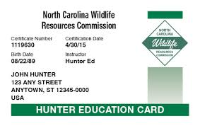 com™ Course Carolina Online Safety Hunter-ed Hunter North