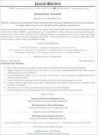 Physical Therapy Resume Template Resume Example Massage Therapist ...