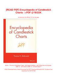 Read Pdf Encyclopedia Of Candlestick Charts Pdf Book