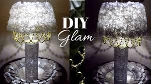 dollar tree diy table lamp diy bling elegant lamp glam lighted home decor