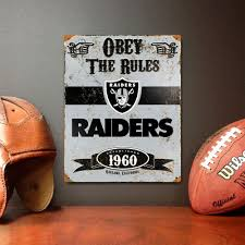 d heavy duty steel oakland raiders on raiders metal wall art with party animal 14 5 in h x 11 5 in d heavy duty steel oakland