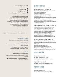 Formal Resume Template Simple Creative Formal Free Resume Template By Hloom FORMATOS CV