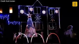 The Greatest Showman Christmas Lights Dad Is The Greatest Showman With Spectacular Christmas Light Display