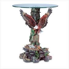 base glass top accent table
