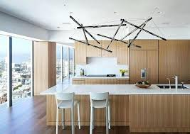 unique kitchen lighting. Unique Kitchen Lights Stick Island Lighting Above White Quartz Light Brown Wooden Cabinet Two R