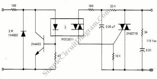 solid state relay ssr optocoupler and triac simple solid state relay ssr optocoupler and triac