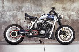 rider on the storm a harley sportster tracker from jsk moto co