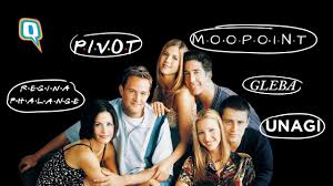 Created by david crane, marta kauffman. Friends 25th Anniversary Gleba To Phalange 8 Words Friends Added To Our Vocabulary