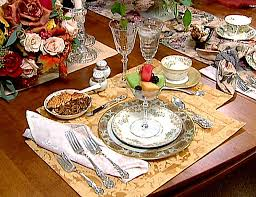 formal table settings. Formal Table Setting Settings