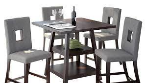 pit piece round dining under modern espresso chairs costco fire palazzo grey table set rustic stools