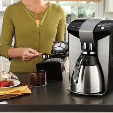 Coffee Maker Carafe And Single Cup Mr Coffeer Optimal Brew 12 Cup Programmable Coffee Maker With