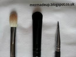 sigma e40 vs mac 224. from left to right \u2013 sigma e25 (sorry it needs a wash)elf eyeshadow \u0027c\u0027 brushsigma small liner e10 e40 vs mac 224