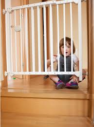 if you live in a multi story home you ll need gates as soon as your little one starts crawling around or scooting usually around 7 8 months