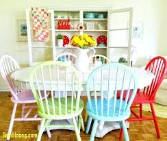 colorful dining room chairs colored fresh sets tables table for including bright furniture colorful dining
