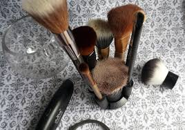 stylpro makeup brush cleaner review brushes in stand