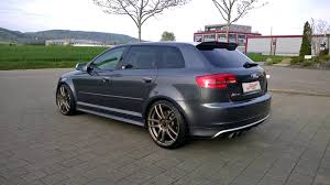 Audi RS3 8P equipped with Barracuda Shoxx wheels and KW coilover ...