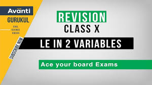 pair of linear equations in 2 variables cbse class 10 revision important questions