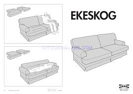 assembly instruction ikea ekeskog sofa cover assembly instruction pdf