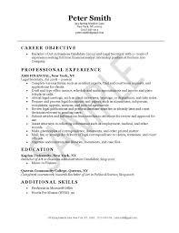 Legal Assistant Resume Examples Fascinating Legal Secretary Resume Example