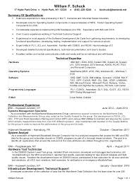 mainframe sample resume