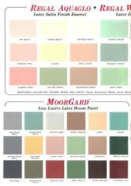 benjamin moore paint color60 colors from Benjamin Moores 1969 paint palette  Retro Renovation