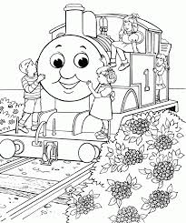 These free printable train coloring pages online will widen your child's thought process and make him. Printable Thomas The Train Coloring Pages Coloring Home