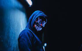 Download wallpaper 3840x2400 mask ...