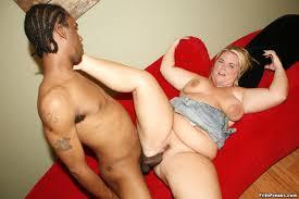 Fat mature bbw interracial anal