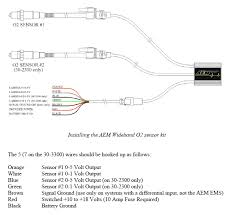 aem standalone uego wiring confusion the uego manual says differently