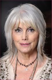 Haare Schulterlang Blond Coupe De Cheveux Fins Femme 60 Ans