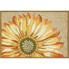 sunflower yellow indoor outdoor rug sunflower yellow indoor outdoor rug