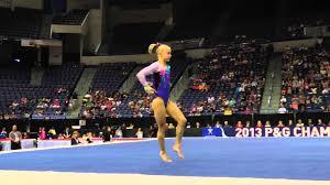 Bailie Key Floor Exercise 2013 PG Gymnastics Championships Jr
