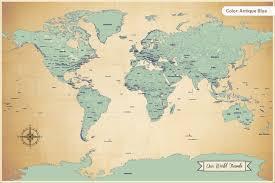 my world travels adventure map