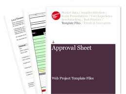 Approval Sheet - Web Project Template Files | Econsultancy