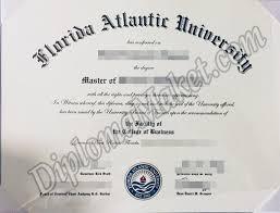 Create A Florida Atlantic University Fake Certificate You Can Be